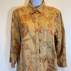 Ralph Lauren Button Down Shirt Sz XL